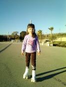 Aprendiendo a patinar